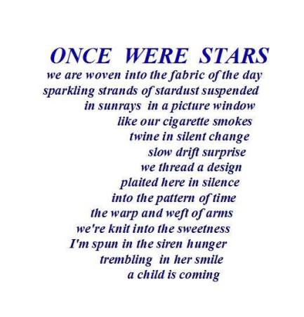 Once We were Stars Sassman
