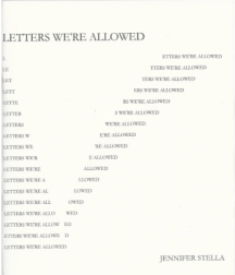 Letters We're Allowed