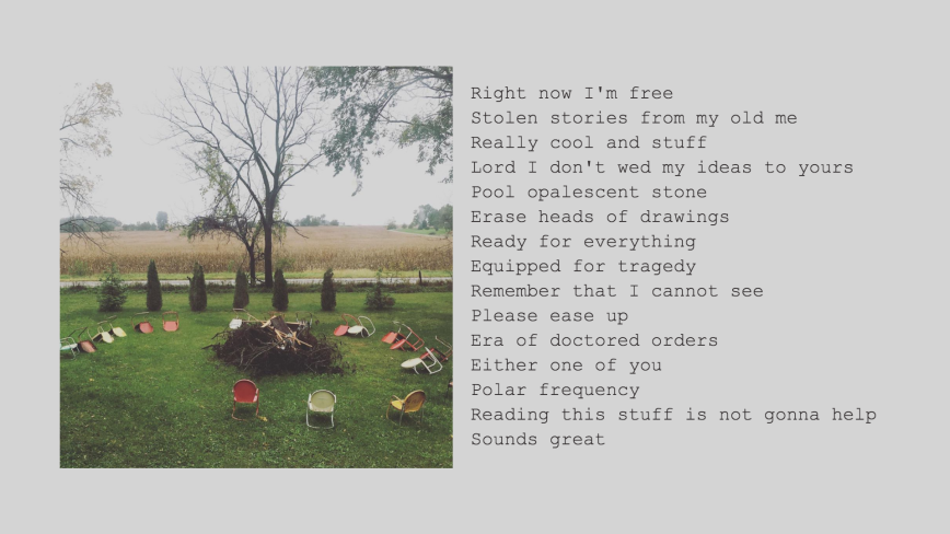 """ill prepared"" 2019 poetry + photo"